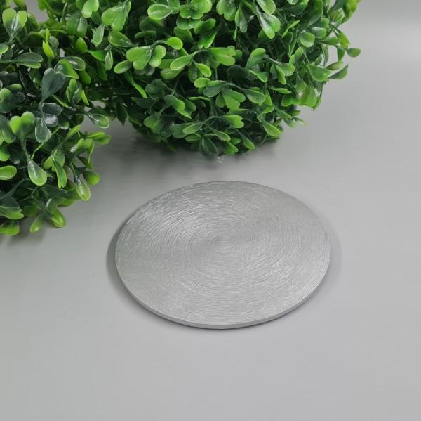 Kerzenteller Silber 10cm ∅